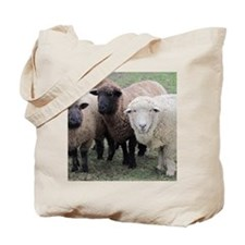 3 Sheep at Wachusett Tote Bag