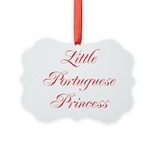 Little Portuguese Princess Ornament