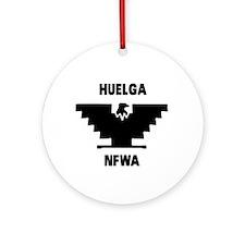 HUELGA Round Ornament