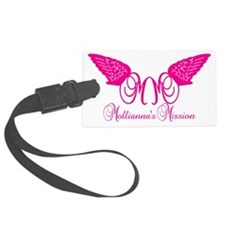 pink_trans Luggage Tag
