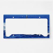 kwest framed panel print License Plate Holder