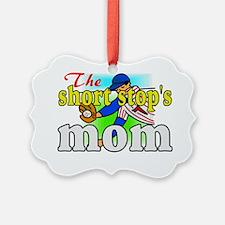 mom of shortstop Ornament