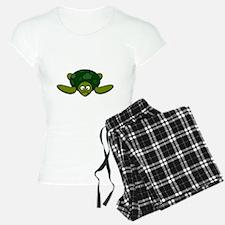 Shell Yeah White Pajamas