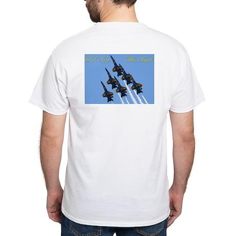 Blue Angels Going Vertical Shirt