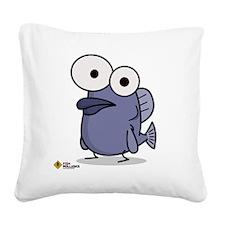 fish Square Canvas Pillow