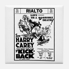 Harry Carey Kick-Back Tile Coaster