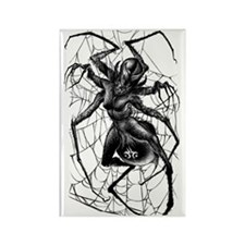 SpiderWoman2-Tshirt Rectangle Magnet