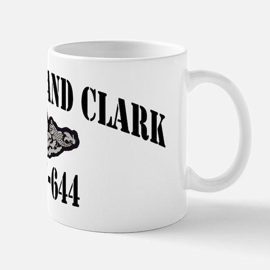 laclark black letters Mug