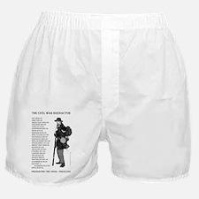 Civil War Reenactor North.ps Boxer Shorts