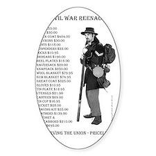 Civil War Reenactor North.ps Decal