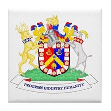 Coat_of_arms_of_Bradford_City_Council Tile Coaster
