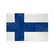 2000px-Flag_of_Finland Rectangle Magnet