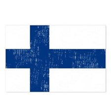 2000px-Flag_of_Finland Postcards (Package of 8)