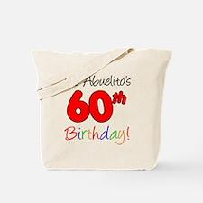 Abueltios 60th Birthday Tote Bag