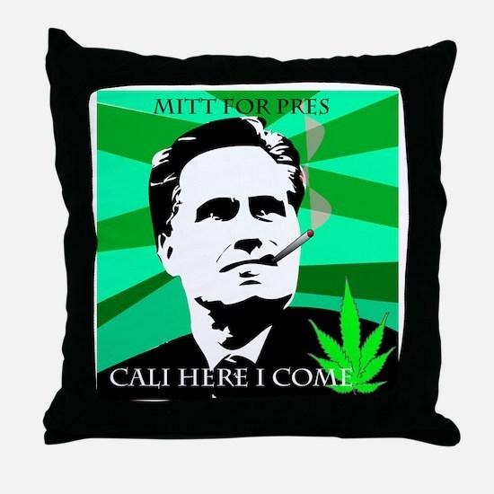 cali Mitt Throw Pillow