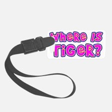 tiger-all Luggage Tag