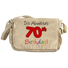 Abuelitas 70th Birthday Messenger Bag