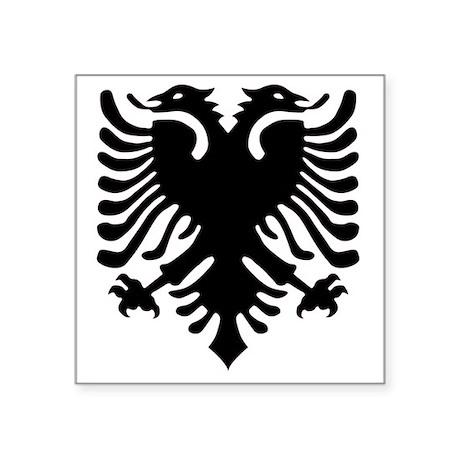 """albania6 Square Sticker 3"""" x 3"""""""
