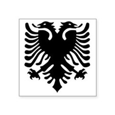 "albania6 Square Sticker 3"" x 3"""