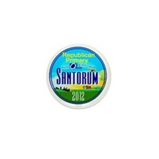 Santorum OHIO Mini Button