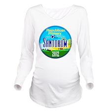 Santorum OHIO Long Sleeve Maternity T-Shirt