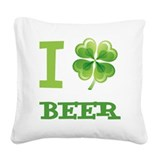 St. patricks day Square Canvas Pillows