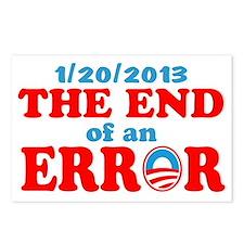 end error 122013 rwb Postcards (Package of 8)