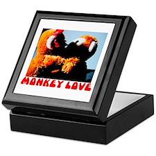 Monkey Love Keepsake Box