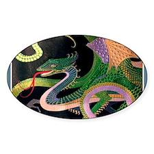 (G) dragon tile - GoldNPrussian (Ti Decal