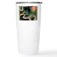 (F) dragon tile - GoldNJade (Ti Travel Mug