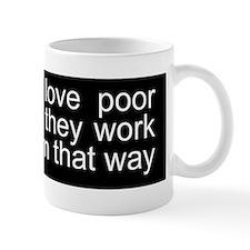 Funny anti-liberal bumper Mug