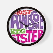 THE BIG SISTER FINAL Wall Clock