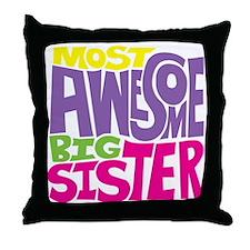 THE BIG SISTER FINAL2 Throw Pillow