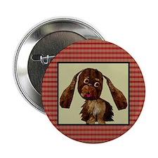 Funny Cocker Spaniel Button