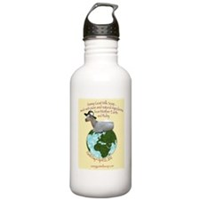 Sassy Goat Earth Day 2 Water Bottle