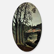 Henri Rousseau: View of Saint Cloud Decal