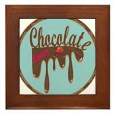Chocolate Lover  Framed Tile
