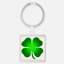 clover Square Keychain