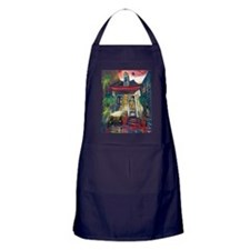 Waiting for You (2400x3000) Apron (dark)