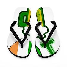 iheartbeerirish Flip Flops