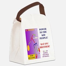 RAT ON TY Canvas Lunch Bag