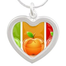 TDapples Silver Heart Necklace