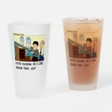 Long Service Drinking Glass