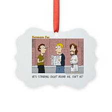 Jesus Always Watching Ornament