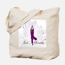 JustBreathe Tote Bag