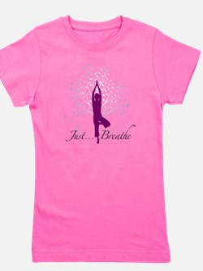 JustBreathe Girl's Tee