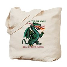 Flaming Dragon Tail of the Dragon Deals G Tote Bag