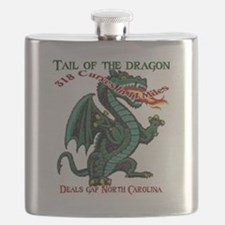 Flaming Dragon Tail of the Dragon Deals Gap  Flask