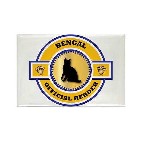 Bengal Herder Rectangle Magnet (100 pack)