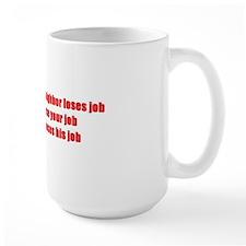 obumper sticker Mug
